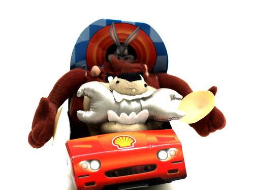 Shell Looney Tunes Taz Soft Toy 1999