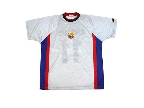 Bootleg Barcelona 'Rivaldo 9' Home Shirt 1998/01 - XL