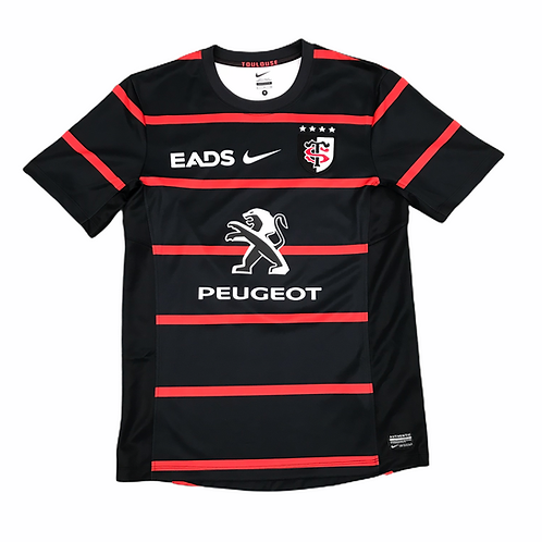 Stade Toulousain Nike 2013/14 'Rory 8' Home Rugby Shirt - S