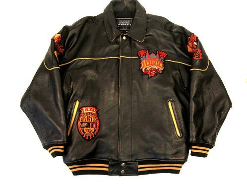 Avirex '1st Casino Tour' Leather Jacket - XXL