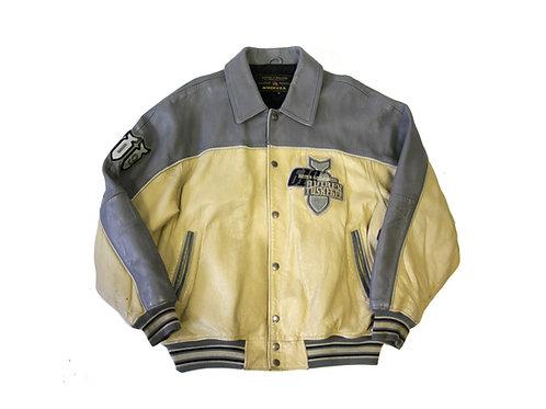 Avirex 'Tuskegee 619 Bomb Squadron' Leather Jacket - XL