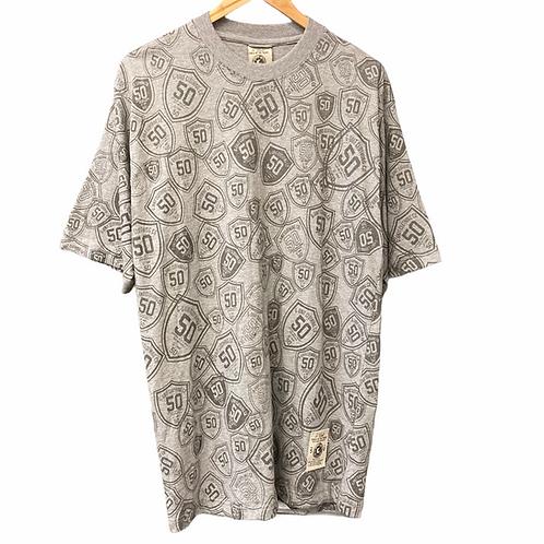 Deadstock G-Unit '50' All Over Print T-Shirt - M