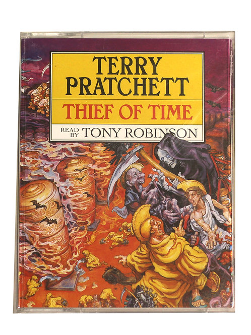 Terry Pratchett 'Thief Of Time' Cassette Audio Book 2001
