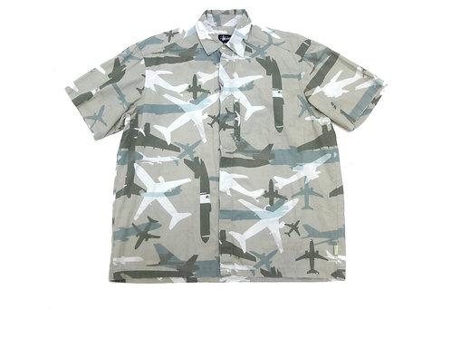 Stussy 'Aeroplane Print' S/S Shirt - M