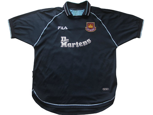 West Ham Fila Third Shirt 2000/01 - XL