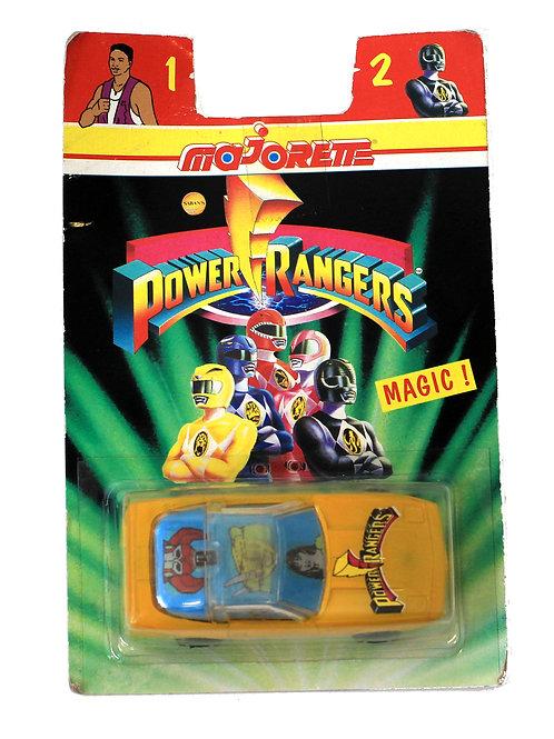 Powe Rangers 'Yellow Ranger' Toy Car 1995