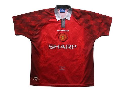 Manchester United Umbro Home Shirt 1996/97 - XL