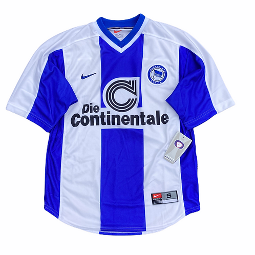 Deadstock Hertha Berlin Nike 1999/00 Home Shirt - S
