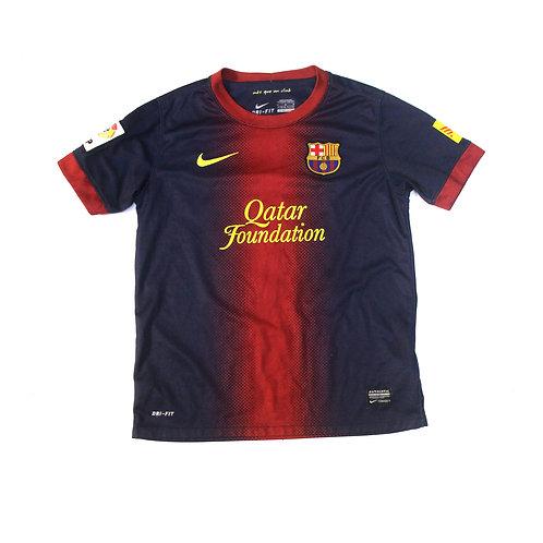 Barcelona Nike Home Shirt 'Alba 18' 2012/13 - Kids
