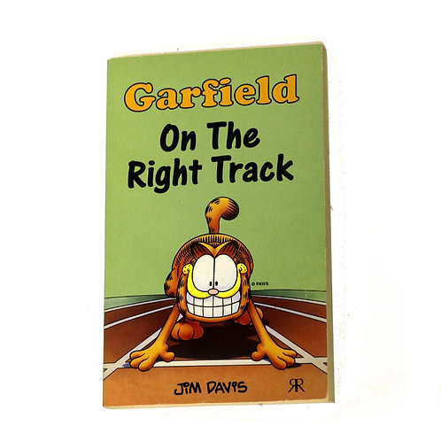 Garfield 'On The Right Track' by Jim Davies