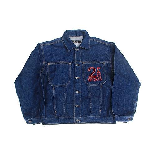 Vintage 2Pac Sports Denim Jacket - M