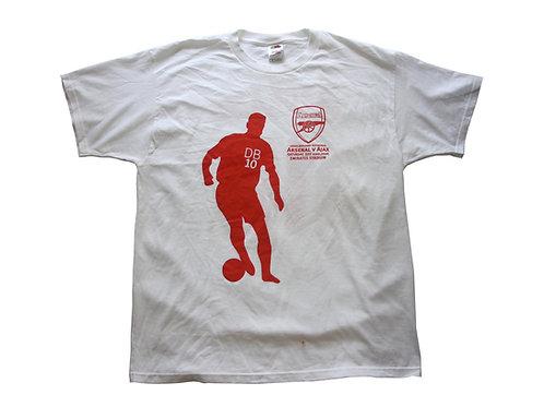 Arsenal 'Dennis Bergkamp Testimonial' T-Shirt - XL