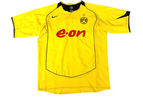 Borussia Dortmund Nike Home Shirt'Smokarek 14' 2004/05 - XL
