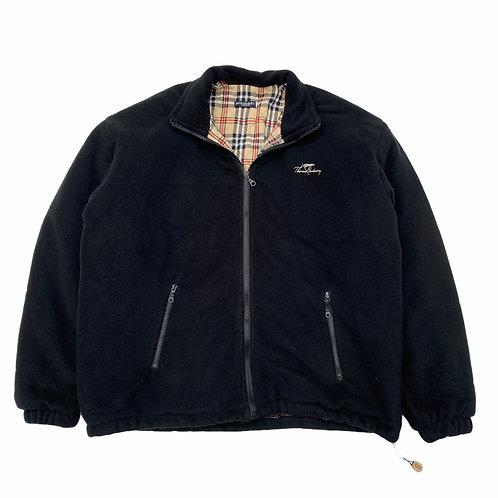 90s Bootleg Burberry Big Fleece Jacket - XL