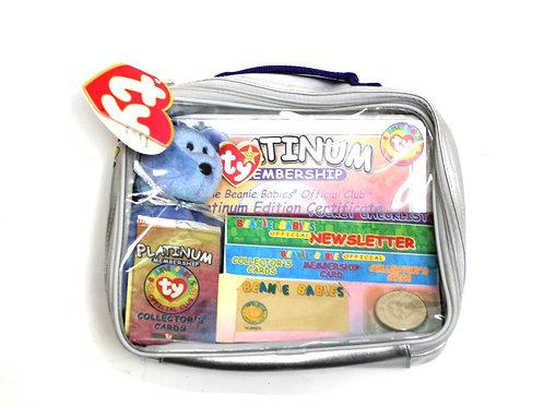 TY Beanie Babie Platinum Membership Pack 1999