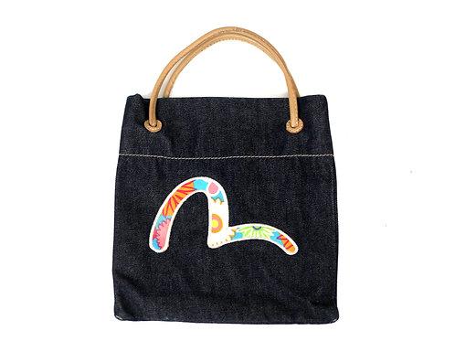 Evisu Small Tote Bag