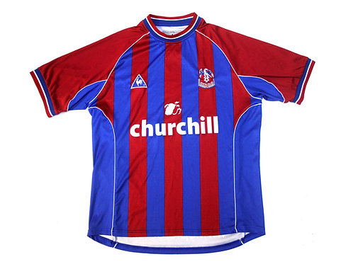 Crystal Palace Le Coq Sportif Home Shirt 201/02 - L