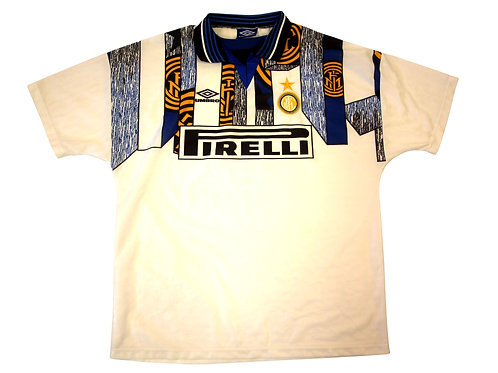 Inter Milan Umbro Away Shirt 1995/96 - XL