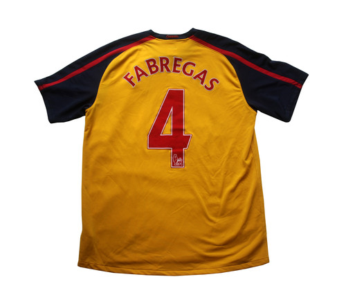 78dbf511579 Arsenal Nike Away Shirt 2008 09 - L