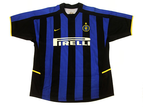 Inter Milan Nike Home Shirt 2002/03 - XL