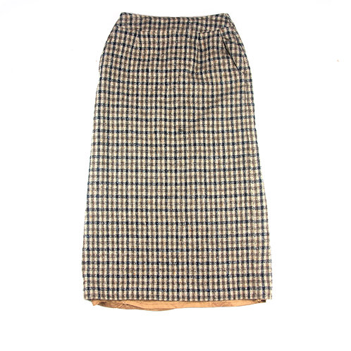 "Aquascutum Plaid Skirt - 26"" x 32.5"""