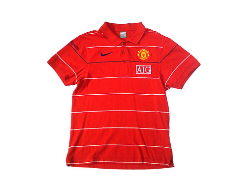 Manchester United Nike Polo Shirt 2008/09 - M