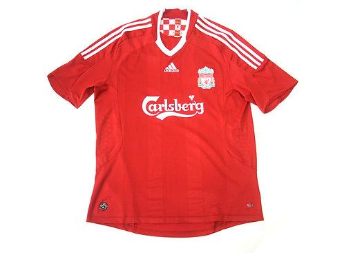 Liverpool Adidas Home Shirt 'Torres 9' 2007/08 - L