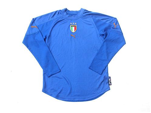 Italy Puma L/S Home Shirt 2004/06 - M