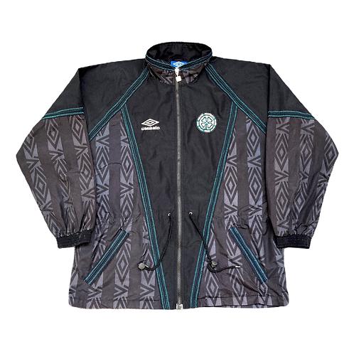 Vintage Celtic FC Umbro 1990s Training Jacket - XL