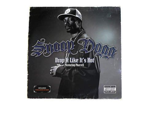 """Snoop Dogg - Drop It Like It's Hot 12"""" Vinyl"""