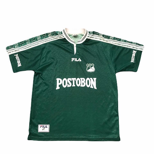 Vintage Deportivo Cali Fila 1998/99 Home Shirt - XL