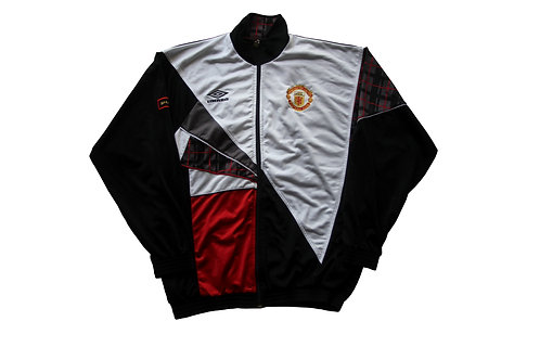 Manchester United Umbro Tracksuit Top late 90s - M/L