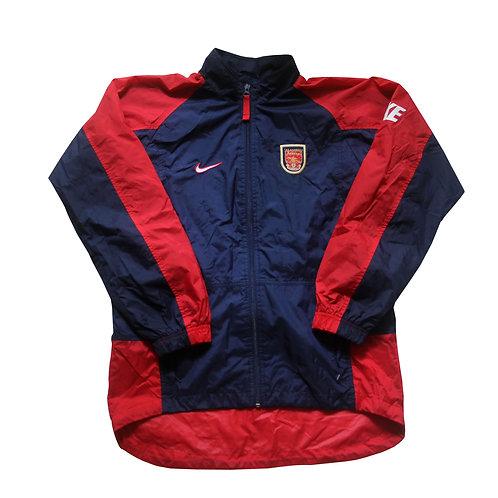 Arsenal Nike Rain Jacket 1997/98 - S/M