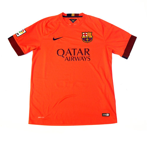 Barcelona Nike Away Shirt 2014/15 - L