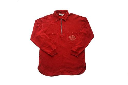 Avirex 1/4 Sweatshirt - XL