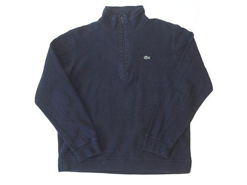 Lacoste 1/4 Zip Lightweight Sweatshirt - M