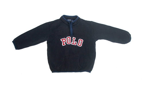 Ralph Lauren 'Polo' 1/4 Zip Sweatshirt - Kids - 4 Years