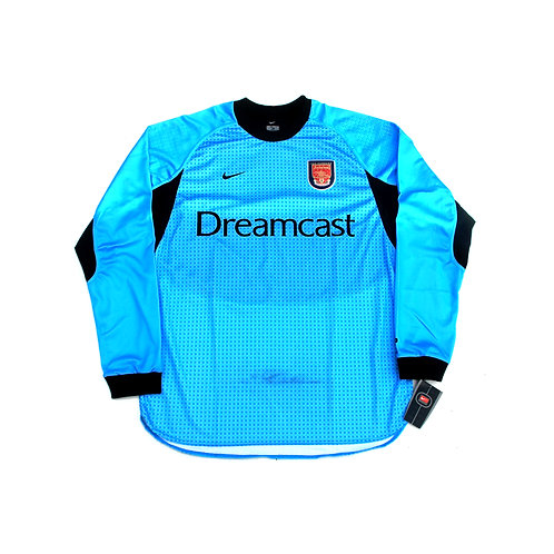 Arsenal Nike Goalkeeper Shirt 2000/01 - L