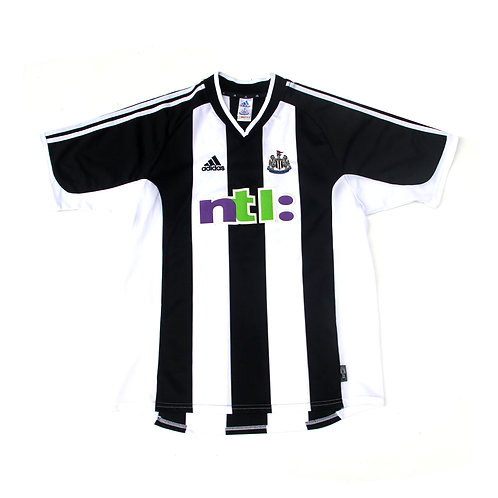 Newcastle Adidas Home Shirt 'Bellamy 17' 2001/03 - L