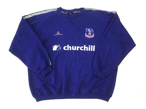 Crystal Palace Le Coq Sportif Training Sweatshirt - XXL