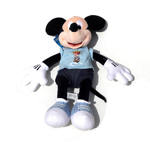 "Disney 'Mickey Mouse Disneyland Paris' 18"" Soft Toy"