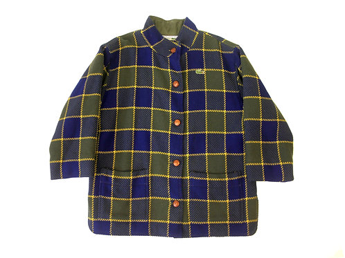 Chemise Lacoste Tartan Jacket 80's - M
