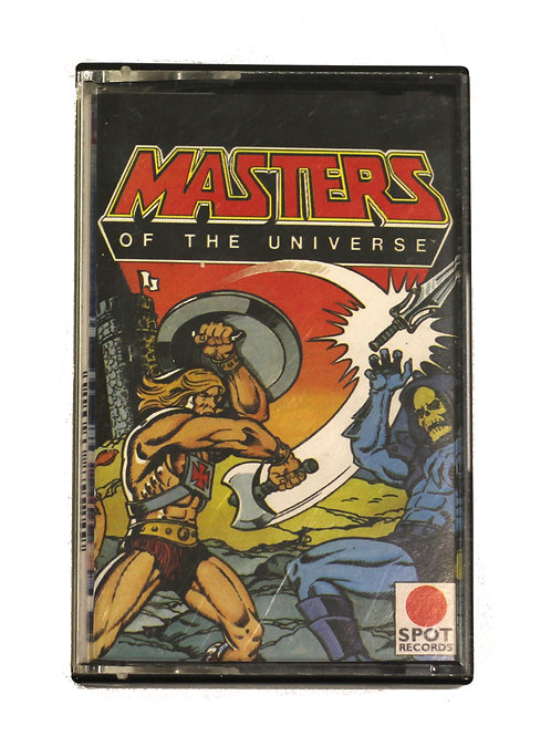 Masters of the Universe Cassette 1983