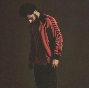 Mo Salah wears Vintage Adidas Tracksuit Top