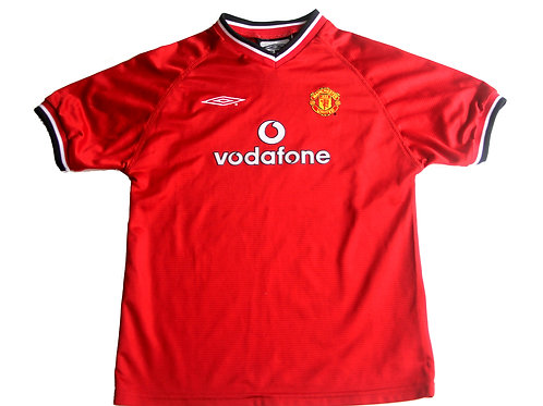 Manchester United Umbro Home Shirt 2000/02 - Kids
