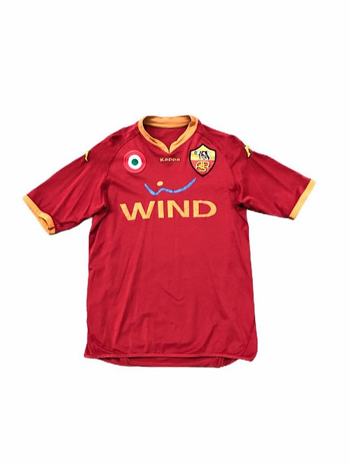 AS Roma Kappa 2008/09 Home Shirt - L