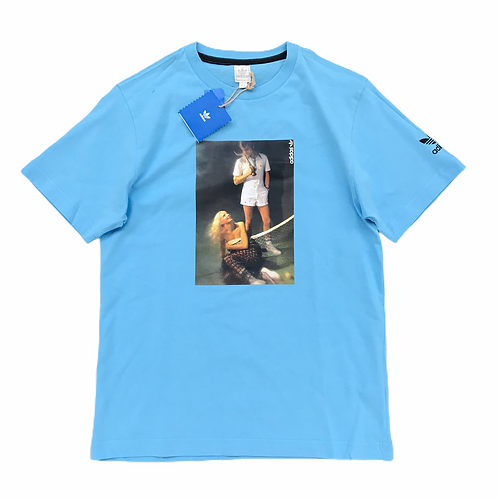 Deadstock Adidas Originals 'Tennis' T-Shirt - XXS