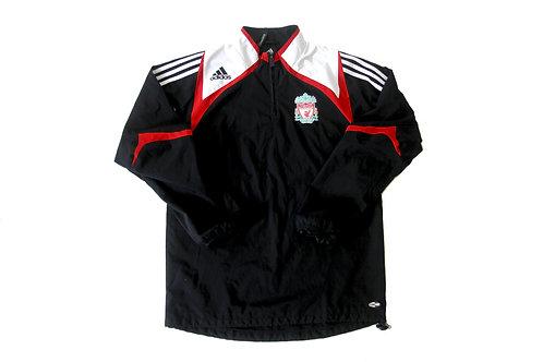 Liverpool Adidas 1/4 Zip Pullover 2007/08 -M