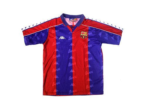 Barcelona Kappa Home Shirt 1992/95 - S