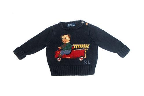 Ralph Lauren 'Toy Bear' Knitted Jumper - Kids - 12 Months